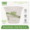 GreenStripe Renewable & Compostable Cold Cups - 9oz., 50/PK, 20 PK/CT