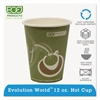 Eco-Products Evolution World 24% Recycled Content Hot Cups - 12oz., 50/PK, 20 PK/CT