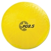 "Champion Sports Playground Ball, 8 1/2"" Diameter, Yellow"