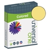 Universal Colored Paper, 20lb, 8-1/2 x 11, Goldenrod, 500 Sheets/Ream