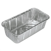 Handi-Foil of America Aluminum Baking Pan, #2 Loaf, 8 x 3 7/8 x 2 19/32, 200/Carton