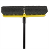 "Rubbermaid Commercial Tampico-Bristle Medium Floor Sweep, 18""Brush,3""Bristles, Black"