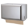 San Jamar Singlefold Paper Towel Dispenser, Chrome, 10 3/4 x 6 x 7 1/2