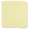 Rubbermaid Commercial Microfiber Cleaning Cloths, 12 x 12, Yellow, 24/Bag