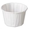 Genpak Paper Portion Cups, 2 oz., White, 250/Bag