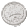 Plastic Lids for Hot Drink Cups, 10oz, White, 1000/Carton