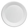 "Basix Foam Dinnerware, Plate, 6"" dia, White"