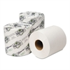 EcoSoft Universal Bathroom Tissue, 1-Ply, 1,000 Sheets/Roll, 96 Rolls/Carton