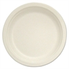 "Stalk Market Compostable Tableware, 10"" Plate, Beige, 500/Box"