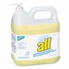 All Free Clear HE Liquid Laundry Detergent, 2 gal Pump Bottle, 2/Carton