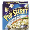 Microwave Popcorn, Homestyle, 1.2 oz Bags, 10/Box