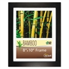NuDell Bamboo Frame, 8 x 10, Black