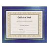 NuDell Leatherette Document Frame, 8-1/2 x 11, Blue, Pack of Two