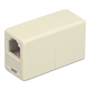 Telephone Cord Coupler, Ivory