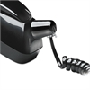 Twisstop Detangler w/Coiled, 25-Foot Phone Cord, Black