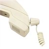 Softalk Twisstop Detangler w/Coiled, 25-Foot Phone Cord, Ivory