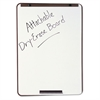 Quartet Oval Dry-Erase Board, 29 x 40, Metallic Bronze Finish Steel, Framed