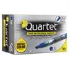 Quartet EnduraGlide Dry Erase Marker, Chisel Tip, Blue, Dozen