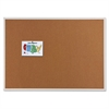 Classic Series Cork Bulletin Board, 96 x 48, Silver Aluminum Frame