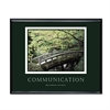 Communication Framed Motivational Print, 30w x 24h