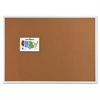 Classic Cork Bulletin Board, 48 x 36, Silver Aluminum Frame