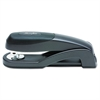 Optima Full Strip Desk Stapler, 25-Sheet Capacity, Graphite Black