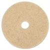 "3M Ultra High-Speed Natural Blend Floor Burnishing Pads 3500, 27"", Natural Tan"