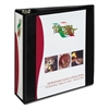 "Avery Heavy-Duty Non Stick View Binder w/Slant Rings, 3"" Cap, Black"