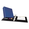 "Avery Economy Non-View Binder with Round Rings, 11 x 8 1/2, 3"" Capacity, Blue"