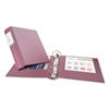 "Avery Heavy-Duty Binder with Round Rings, 11 x 8 1/2, 3"" Capacity, Mauve"