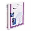 "Avery Heavy-Duty Non Stick View Binder w/Slant Rings, 1/2"" Cap, White"