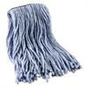 Mop Head, Standard Head, Cotton/Synthetic Fiber, Cut-End, #16., Blue