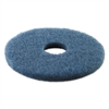 Boardwalk Standard 13-Inch Diameter Scrubbing Floor Pads, Blue