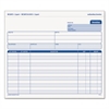 Snap-Off Invoice, 8 1/2 x 7, Three-Part Carbonless, 50 Forms