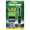 Rayovac Sportsman Flashlight, Holster, Machined Aluminum/Metallic Sage, 2 AA Batteries