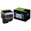 70C1XKO (LEX-701XK) Extra High-Yield Toner, 8000 Page-Yield, Black
