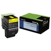 Lexmark 70C1XY0 (LEX-701XY) Extra High-Yield Toner, 4000 Page-Yield, Yellow