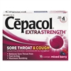 Cepacol Sore Throat and Cough Lozenges, Mixed Berry, 16 Lozenges
