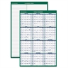 AT-A-GLANCE Vertical Erasable Wall Planner, 24 x 36, 2017