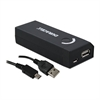 Duracell Portable Power Bank with Micro USB Cable, 4000 mAh