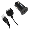 Car Charger, Apple 30-Pin, Black