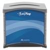 Georgia Pacific Professional EasyNap Napkin Dispenser, 5 9/10 x 7 12/25 x 6 16/25 Blue/Gray/Black