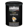 Lavazza Caffe Espresso Ground Coffee, Dark Roast, 8 oz Can