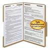 Smead 11 Point Kraft Folders, Two Fasteners, 2/5 Cut Rt, Top Tab, Legal, Brown, 50/Box