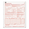 Paris Business Products CMS Forms, 2 Part Continuous White/Canary, 9 1/2 x 11, 1000 Forms