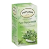 TWININGS Tea Bags, Pure Peppermint, 1.76 oz, 25/Box