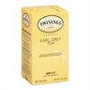TWININGS Tea Bags, Earl Grey, 1.76 oz, 25/Box