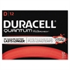 Duracell Quantum Alkaline Batteries with Duralock Power Preserve Technology, D, 72/Carton