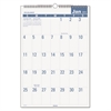 Easy-to-Read Monthly Wall Calendar, 15 1/2 x 22 3/4, Easy-to-Read, 2017