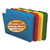 Smead Waterproof Poly File Folders, 1/3 Cut Top Tab, Letter, Assorted, 24/Box